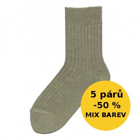 VLNĚNÉ PONOŽKY - VÝHODNÉ BALENÍ 5 PÁRŮ | Economic - Vlněné ponožky | Economic - Výhodné balení 5 párů teplých vlněných ponožek se slevou 50 %! Vlněné klasické ponožky s volným lemem. V balíčku dodáme mix barev dle aktuálních skladových zásob. V nabídce v mixu barev jemného melíru dle aktuálních skladových zásob.