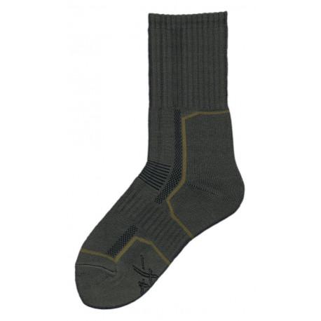Olivová - Ponožky 2000 | KNITVA Army - Speciální zátěžové ponožky vzor 2000. Ponožky Armády ČR. Ponožky mají na chodidle nesepratelnou značku s velikostí azkříženými meči. K dispozici jsou ponožky v klasické zelené, ale také v černé variantě. Materiál: bavlna, polypropylen, polyamid, elastan.