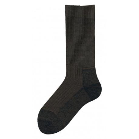 Khaki - Ponožky 2000 TERMO | KNITVA Army - Speciální záťěžové ponožky vzor 2000 TERMO. Ponožky Armády ČR. Ponožky mají na chodidle nesepratelnou značku s velikostí azkříženými meči. Materiál: akryl, vlna, polyamid.