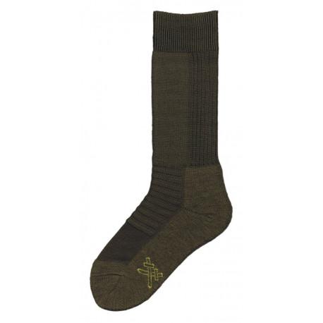 Khaki - Ponožky 2000 TERMO zimní | KNITVA Army - Silné zimní zátěžové termo ponožky vzor 2000. Ponožky Armády ČR. Ponožky mají na chodidle nesepratelnou značku s velikostí azkříženými meči. Materiál ‑akryl, vlna, polyamid.